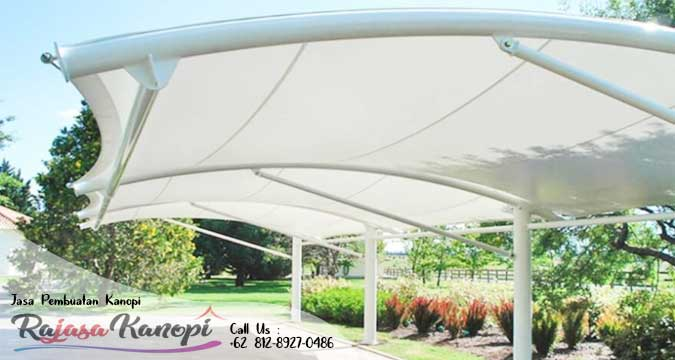 Jasa Pembuat Canopy Tenda Membrane