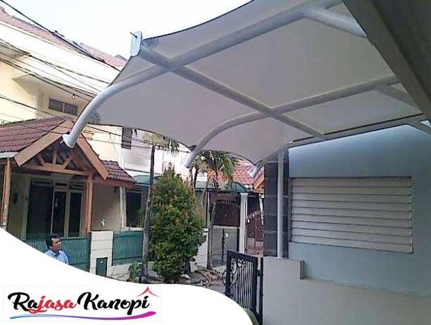 jasa pembuatan kanopi kain, tenda membrane, awning gulung, dll